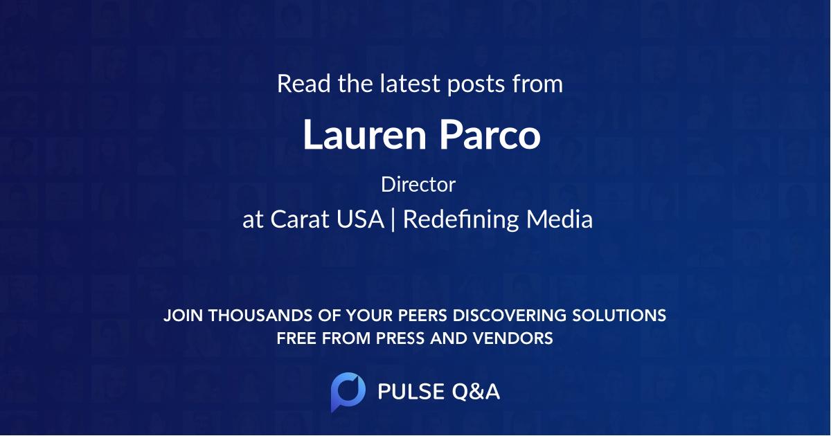 Lauren Parco