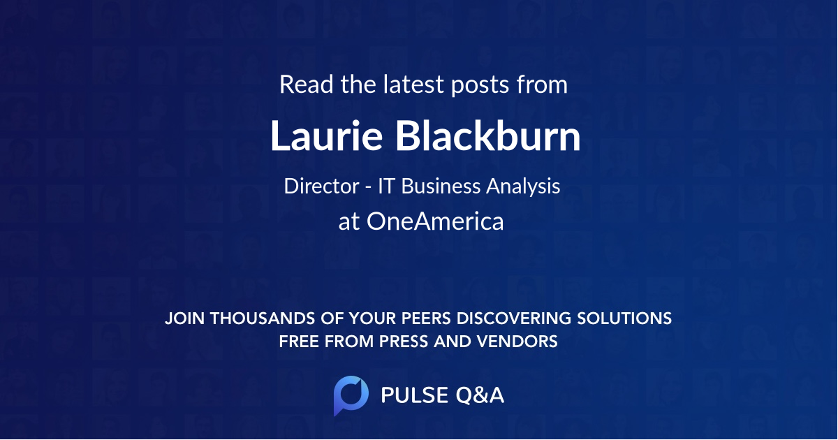 Laurie Blackburn