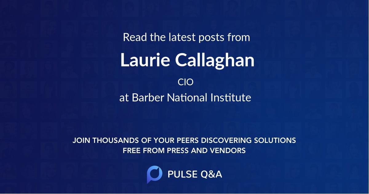 Laurie Callaghan