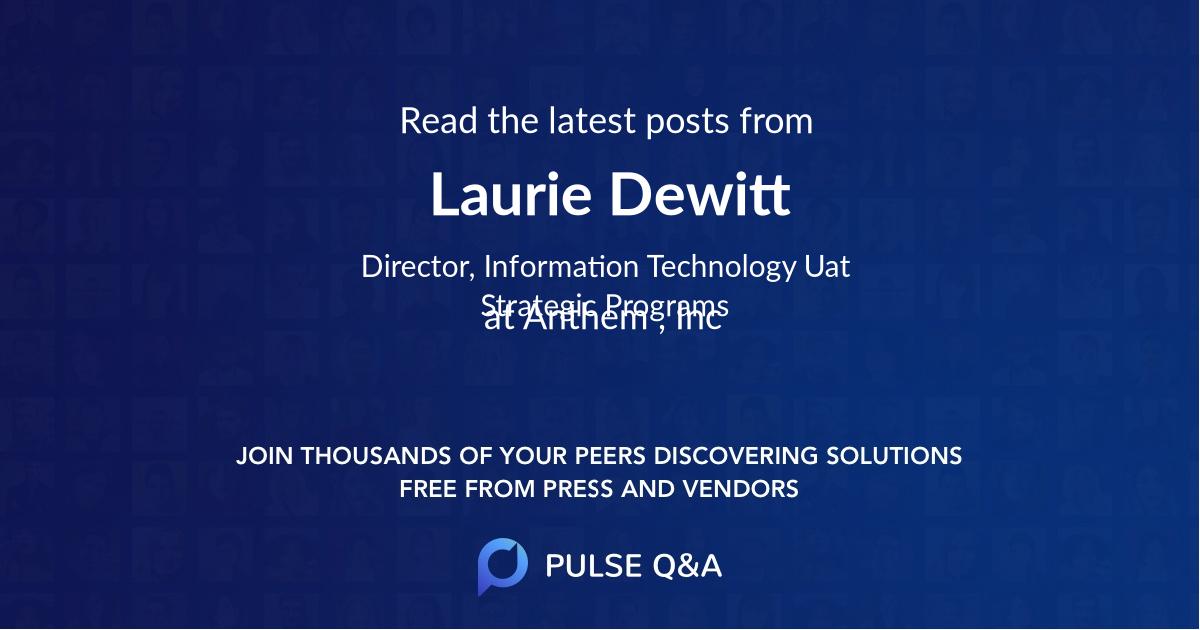 Laurie Dewitt