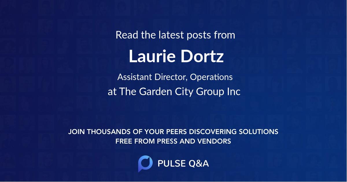 Laurie Dortz
