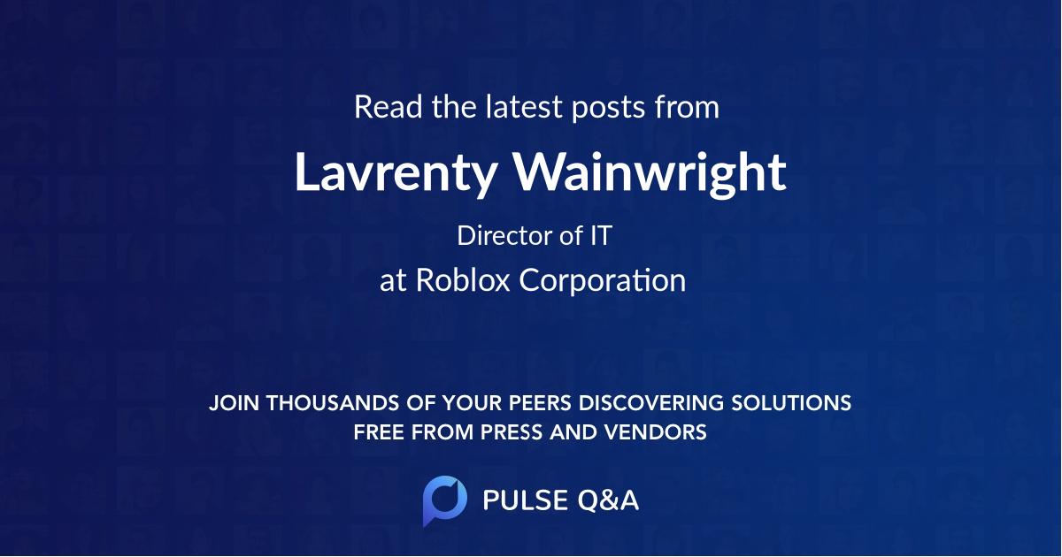 Lavrenty Wainwright