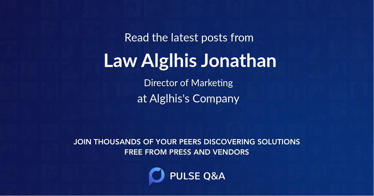 Law Alglhis Jonathan
