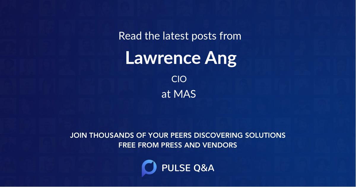 Lawrence Ang