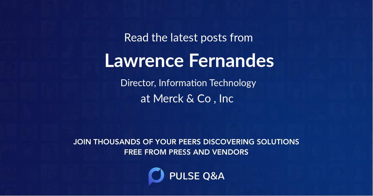 Lawrence Fernandes