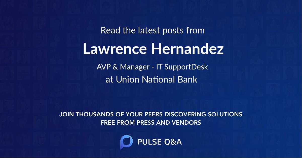 Lawrence Hernandez