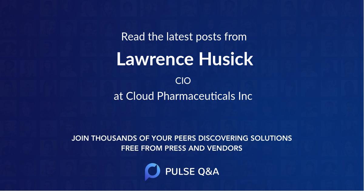 Lawrence Husick