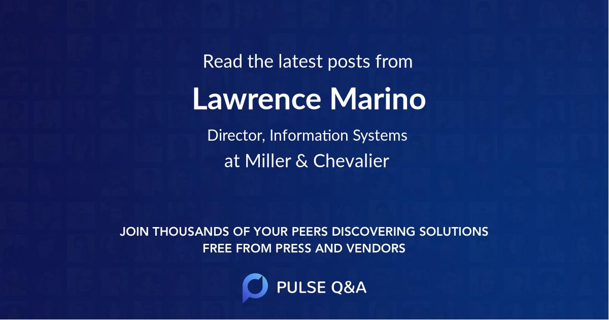 Lawrence Marino