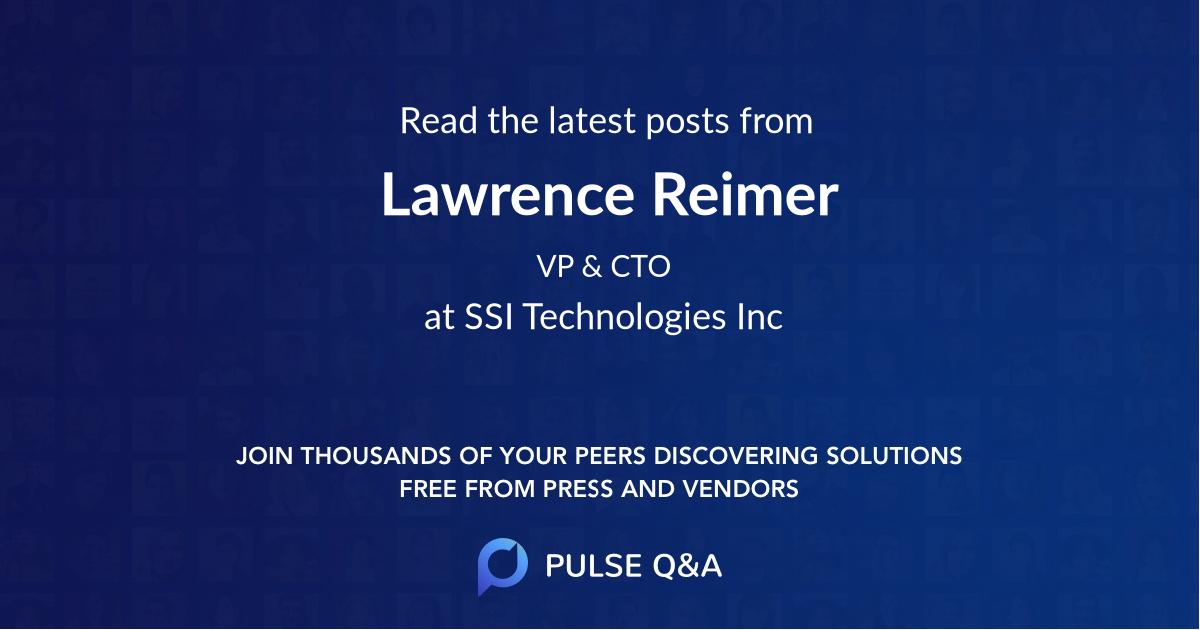 Lawrence Reimer