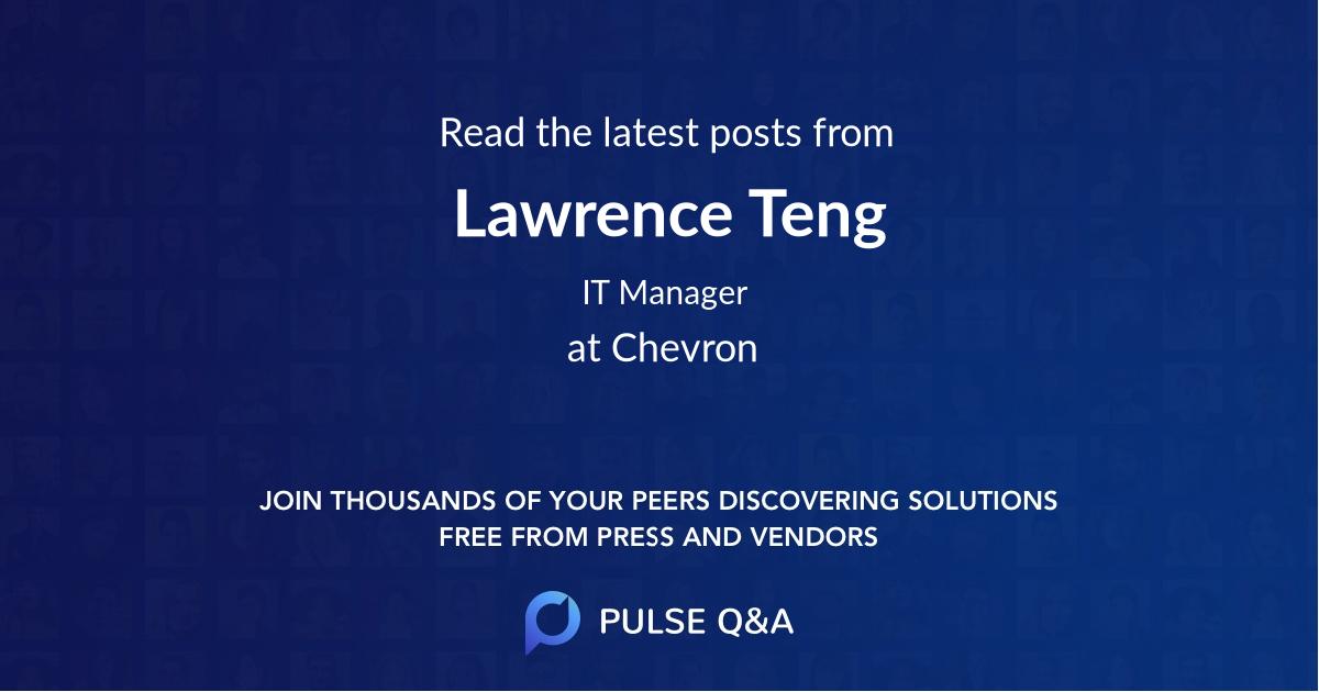 Lawrence Teng