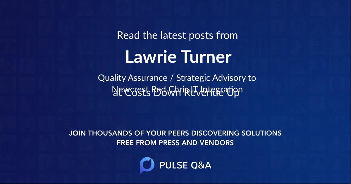 Lawrie Turner