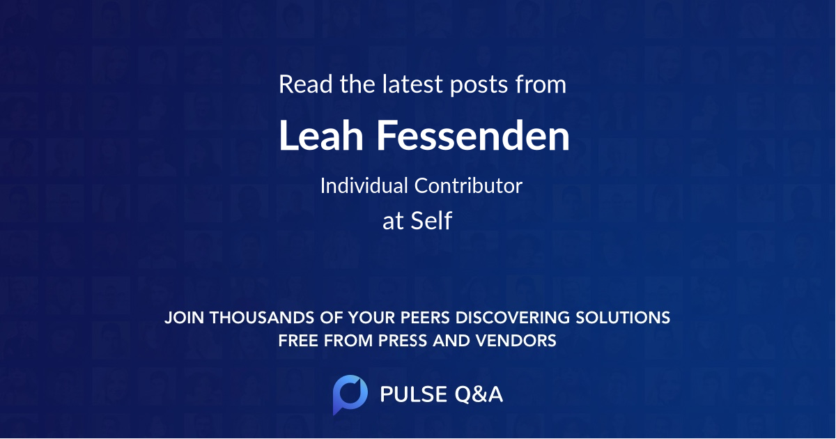 Leah Fessenden