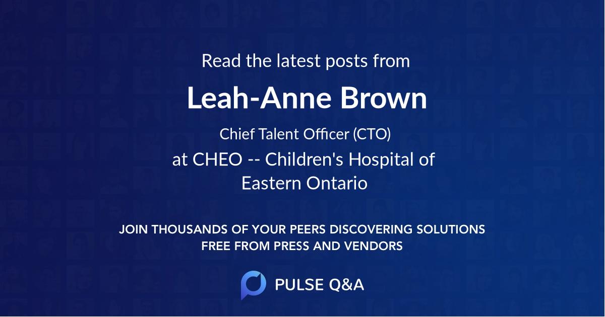 Leah-Anne Brown