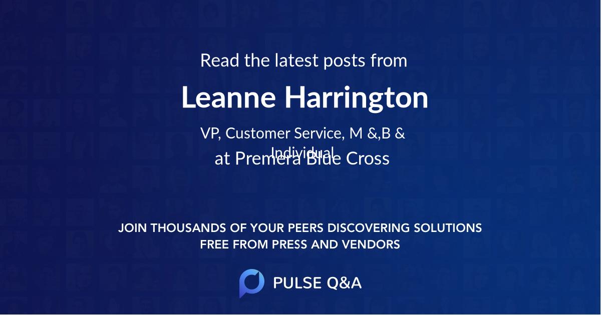 Leanne Harrington