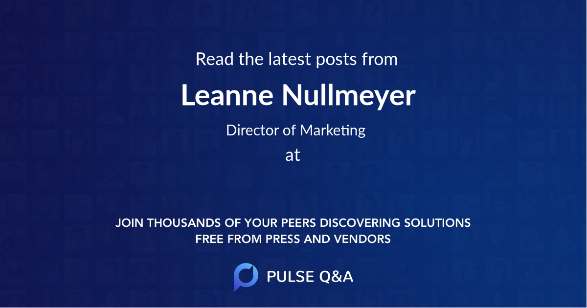 Leanne Nullmeyer
