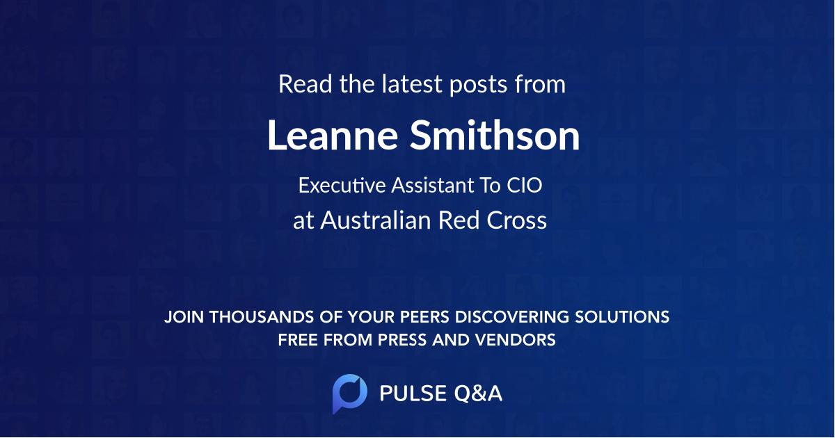 Leanne Smithson