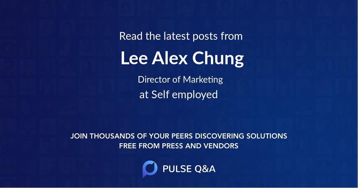 Lee Alex Chung