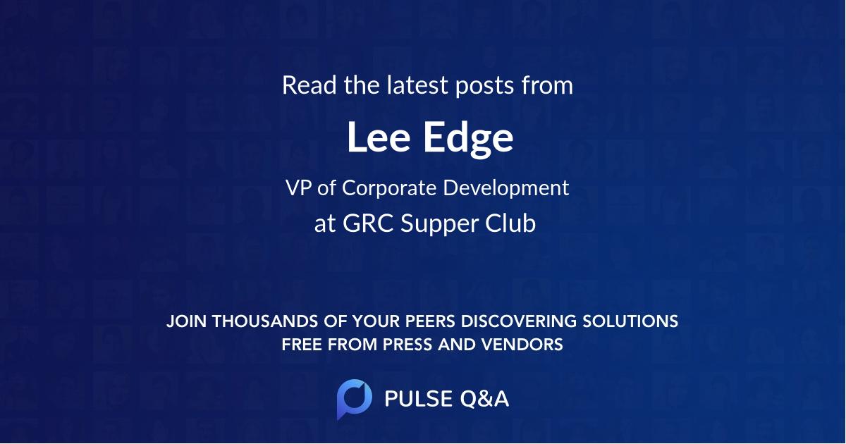 Lee Edge