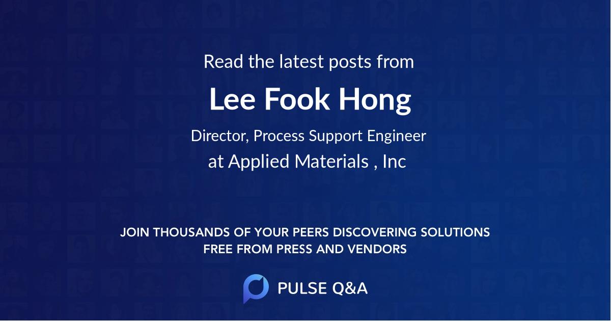 Lee Fook Hong