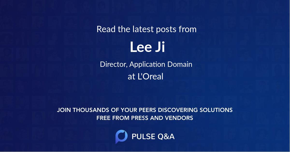 Lee Ji