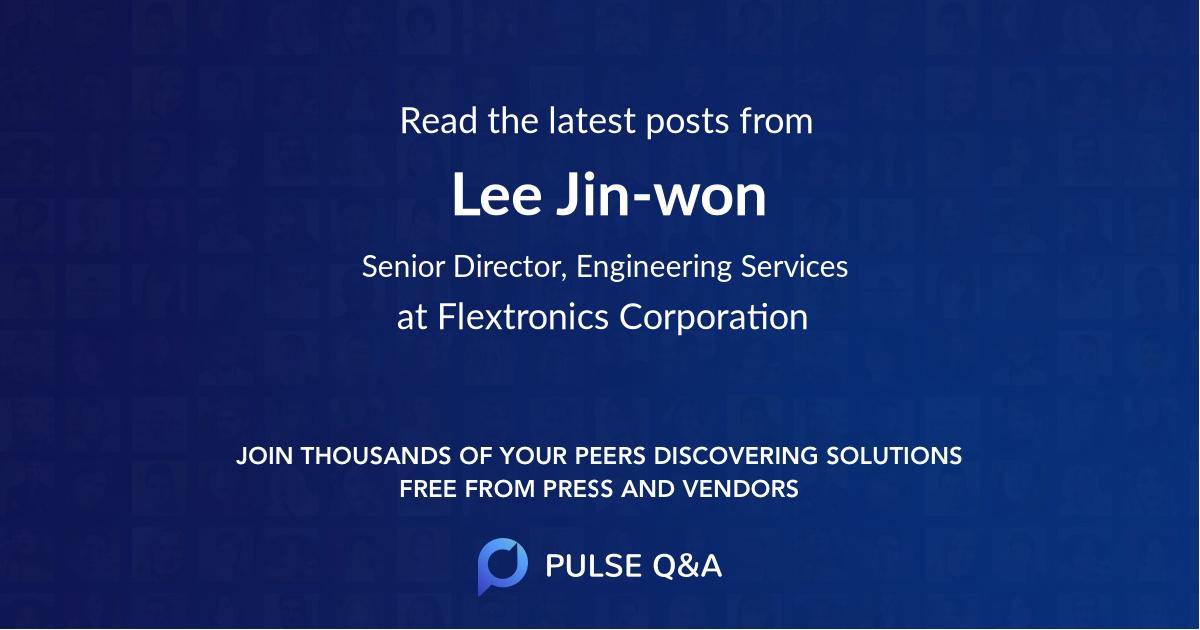 Lee Jin-won
