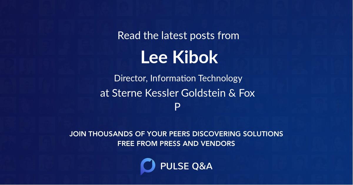 Lee Kibok