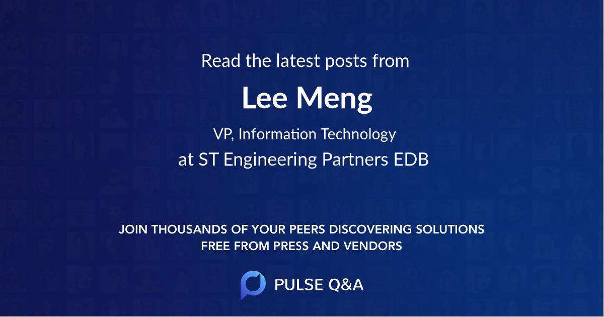 Lee Meng
