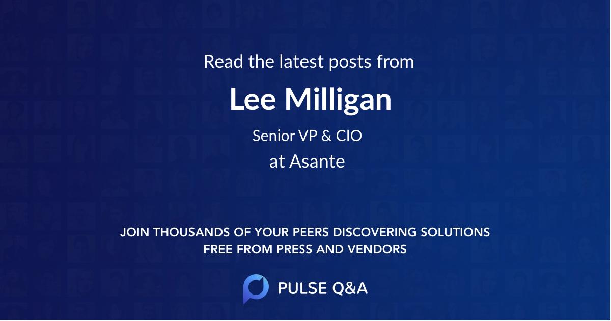 Lee Milligan