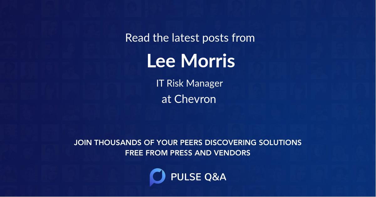 Lee Morris