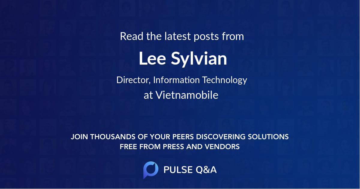 Lee Sylvian