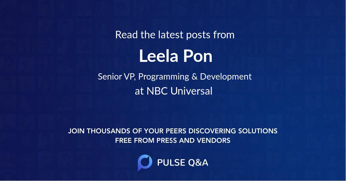 Leela Pon