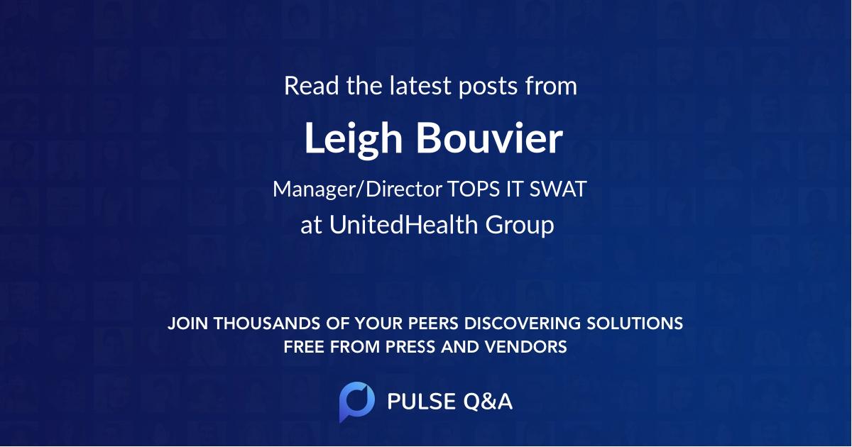 Leigh Bouvier