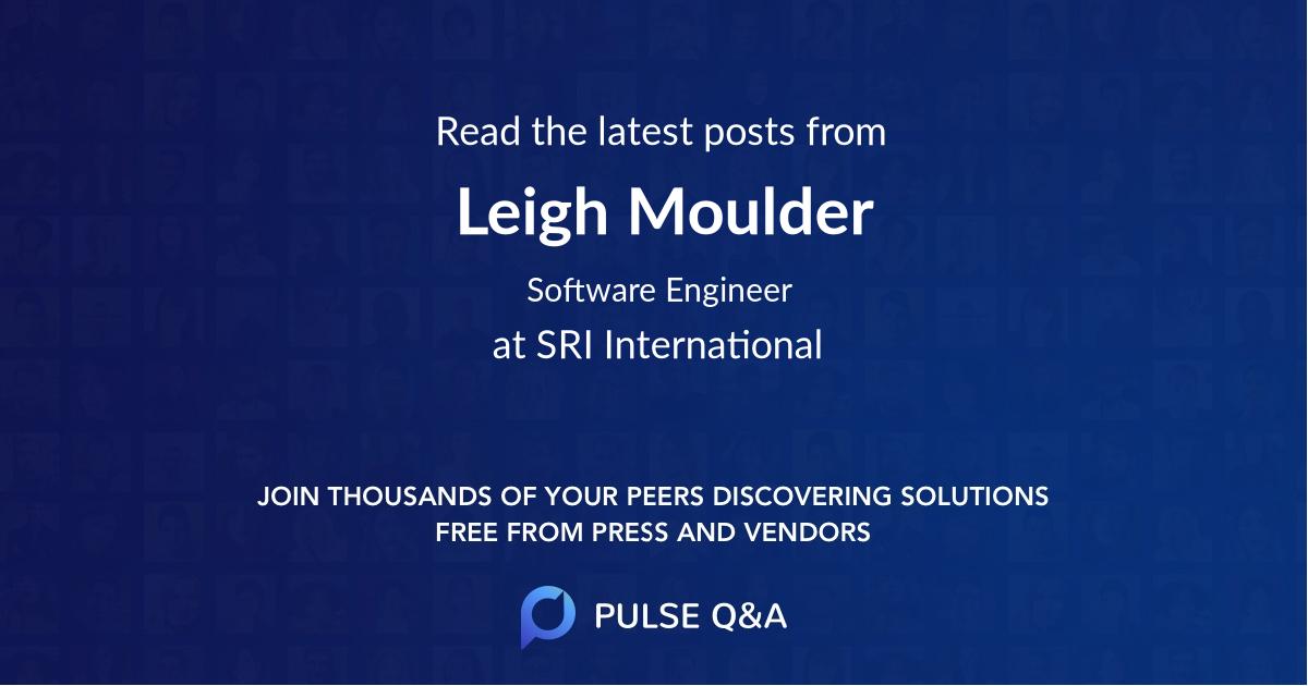 Leigh Moulder