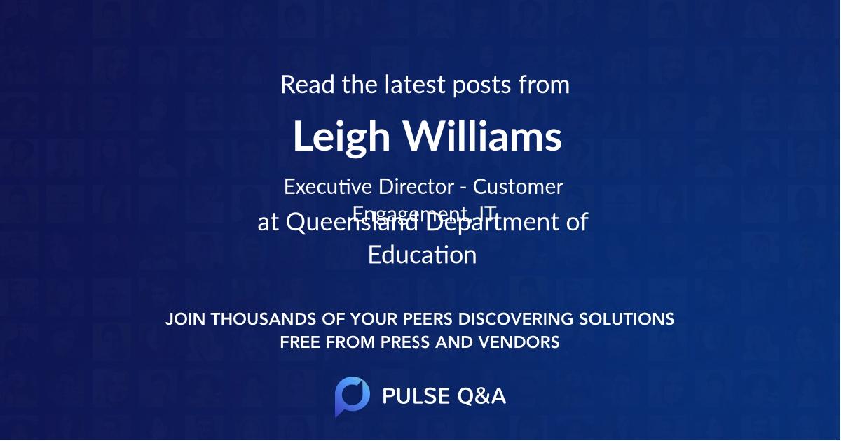 Leigh Williams