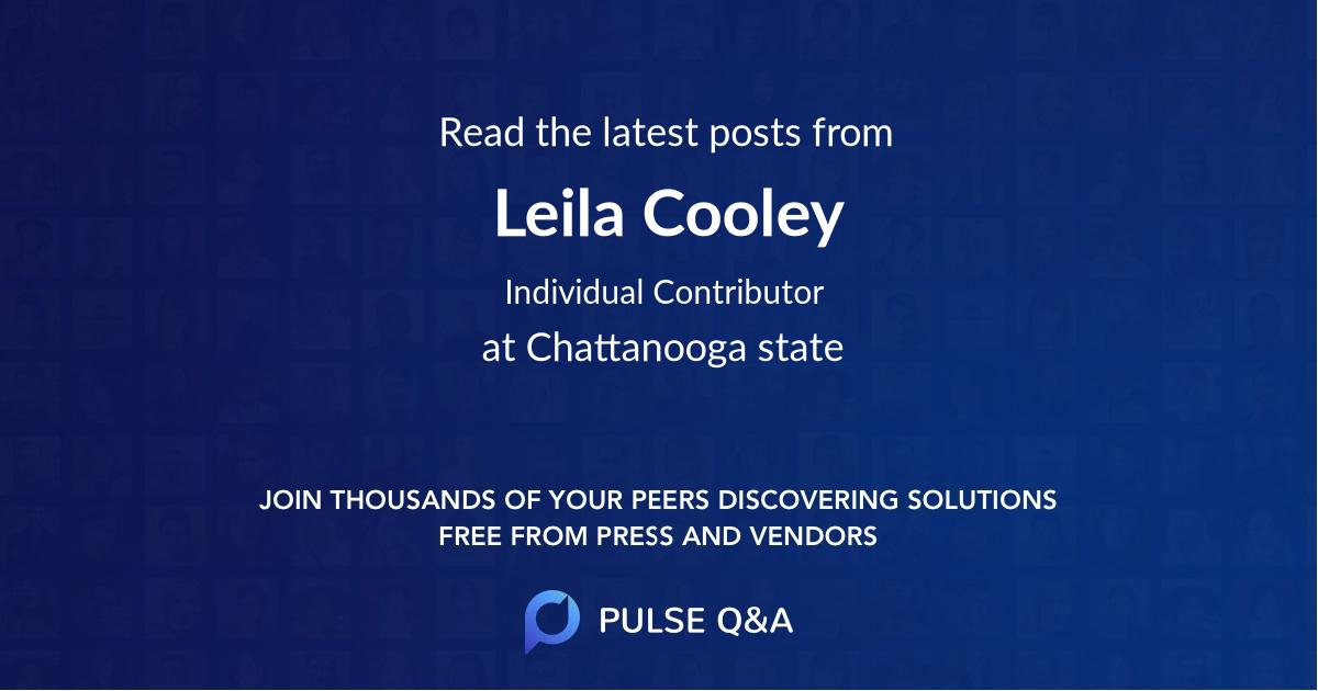 Leila Cooley