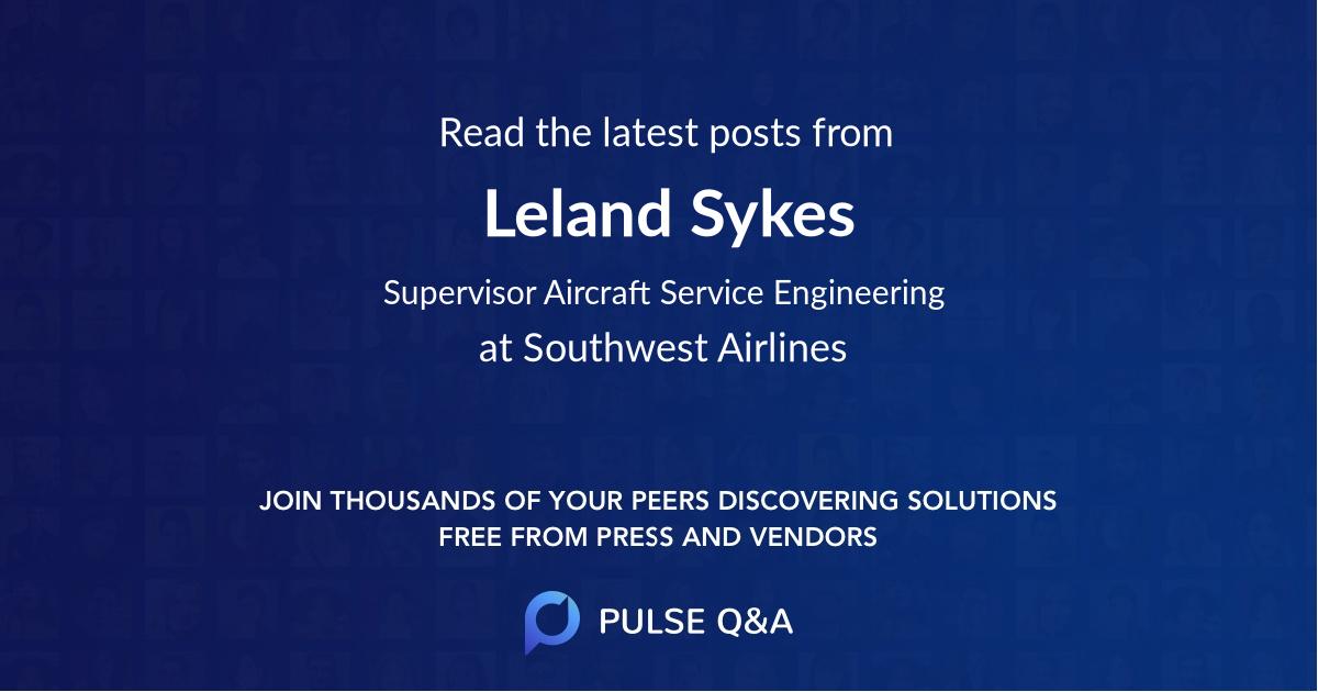 Leland Sykes