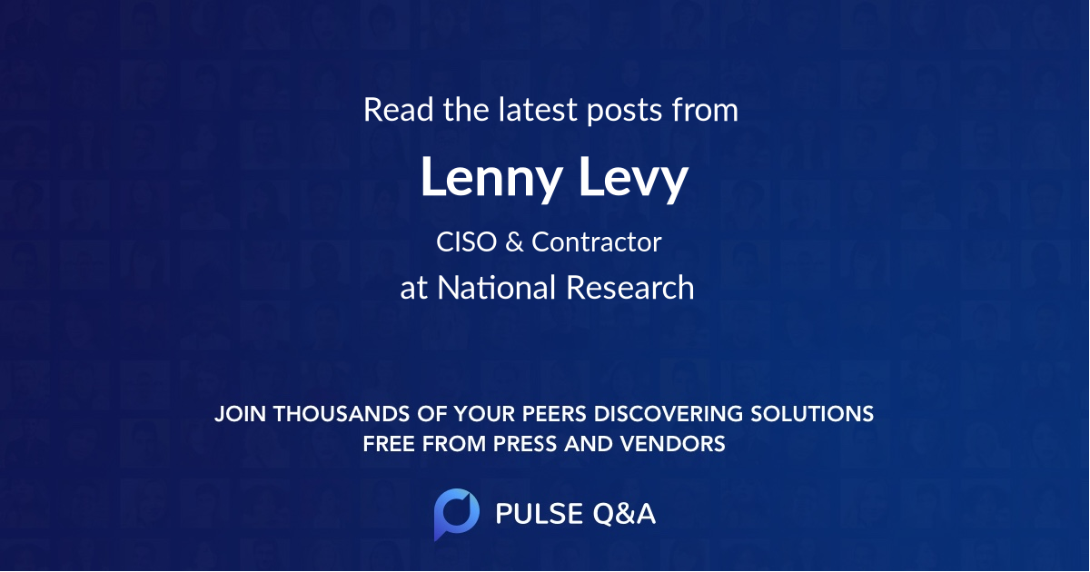 Lenny Levy