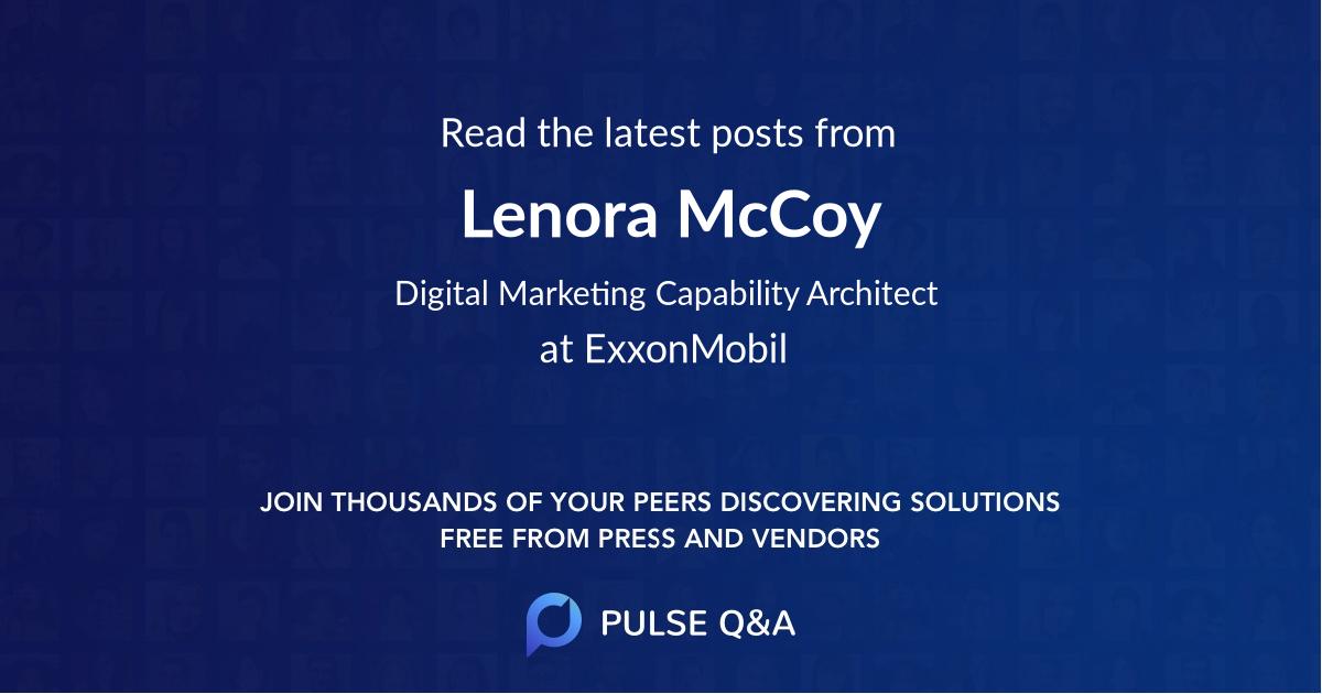 Lenora McCoy