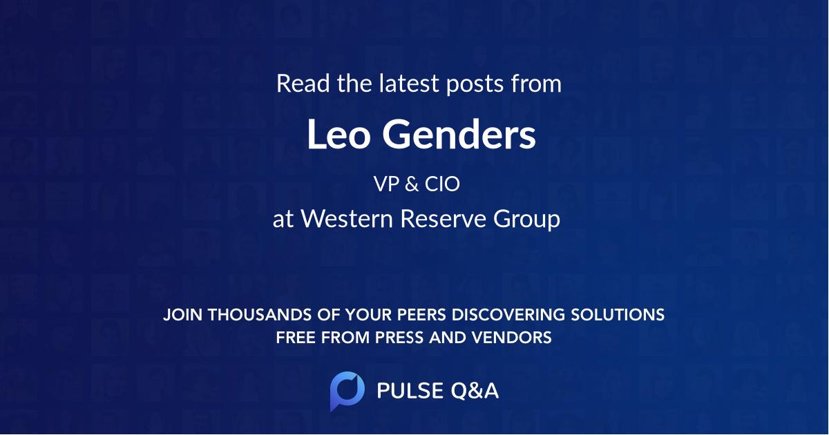 Leo Genders
