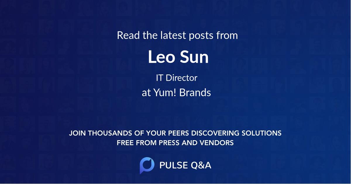 Leo Sun