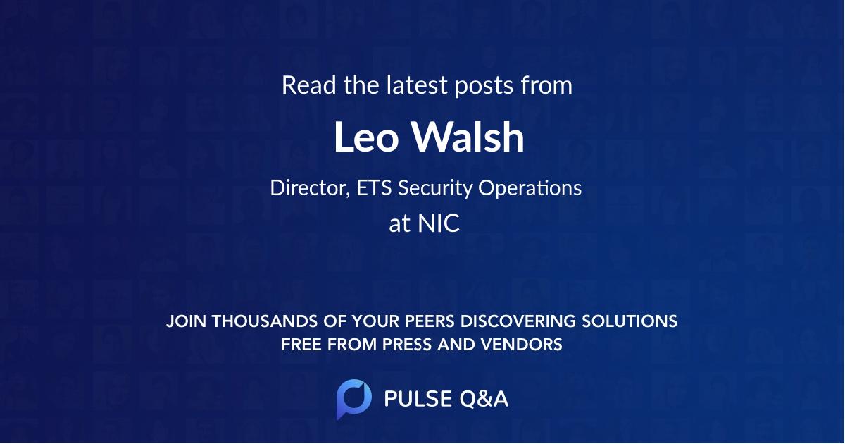 Leo Walsh