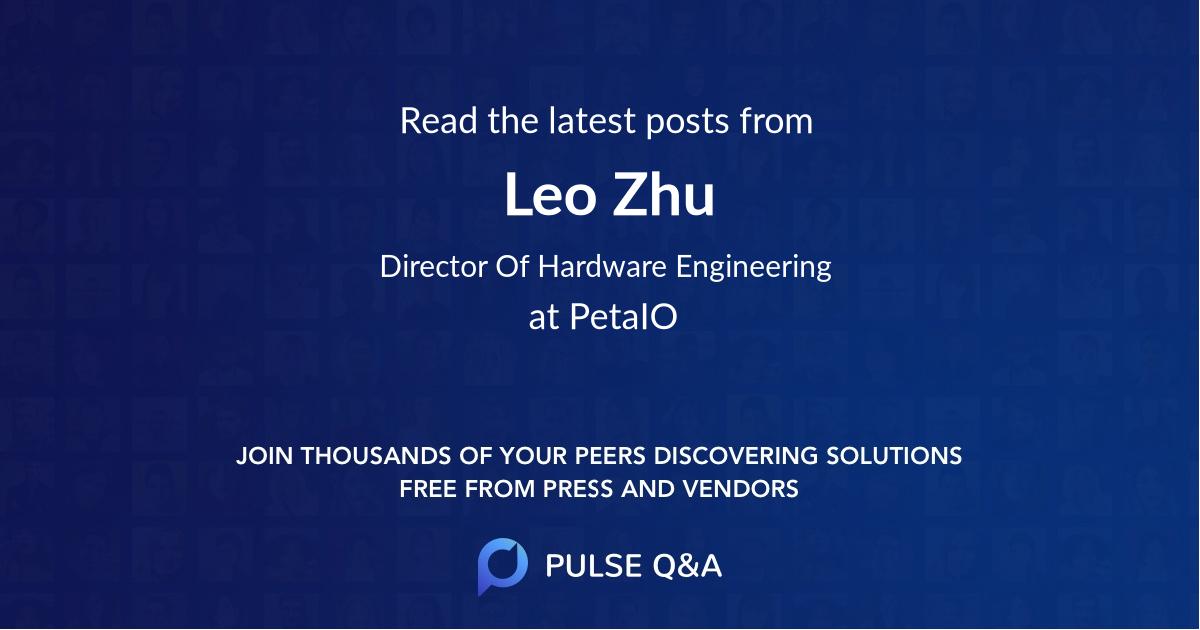 Leo Zhu