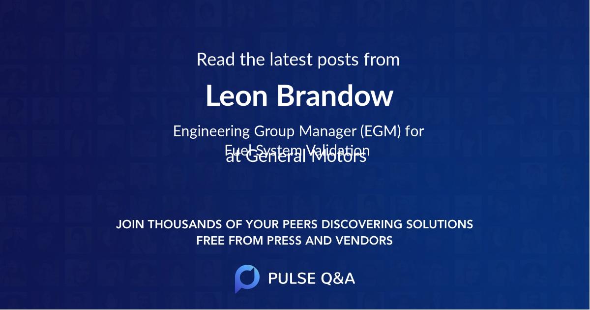 Leon Brandow