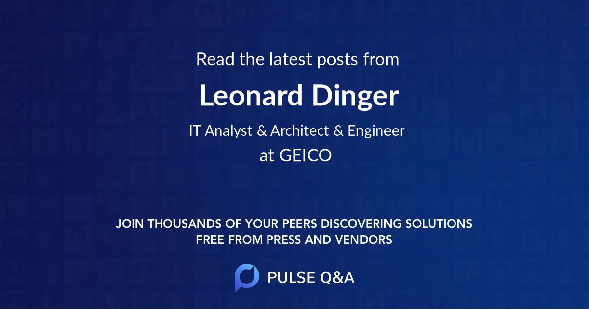 Leonard Dinger