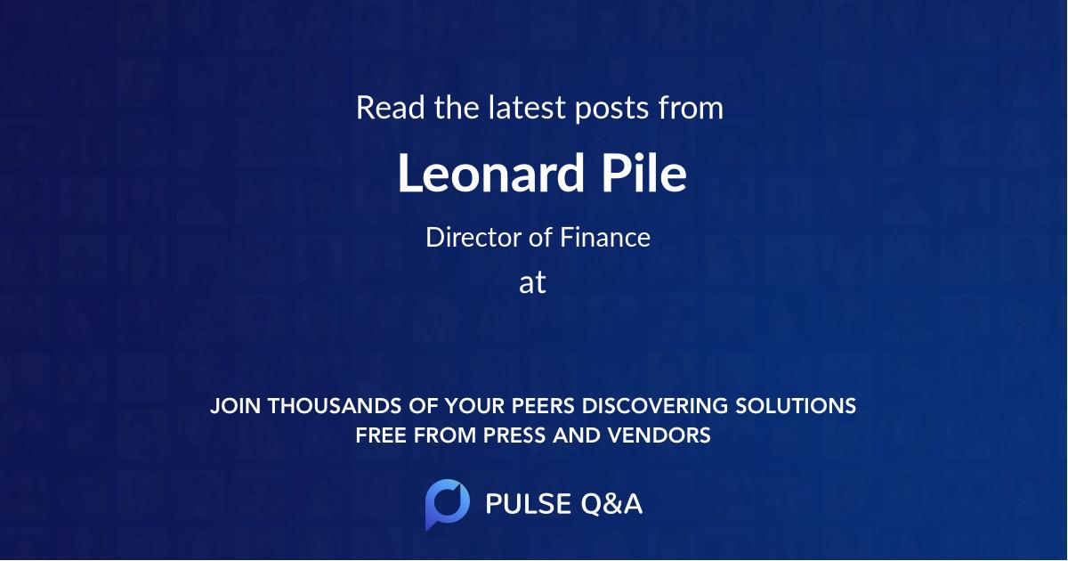 Leonard Pile