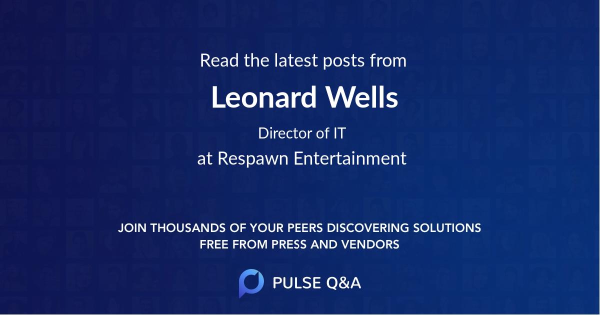 Leonard Wells
