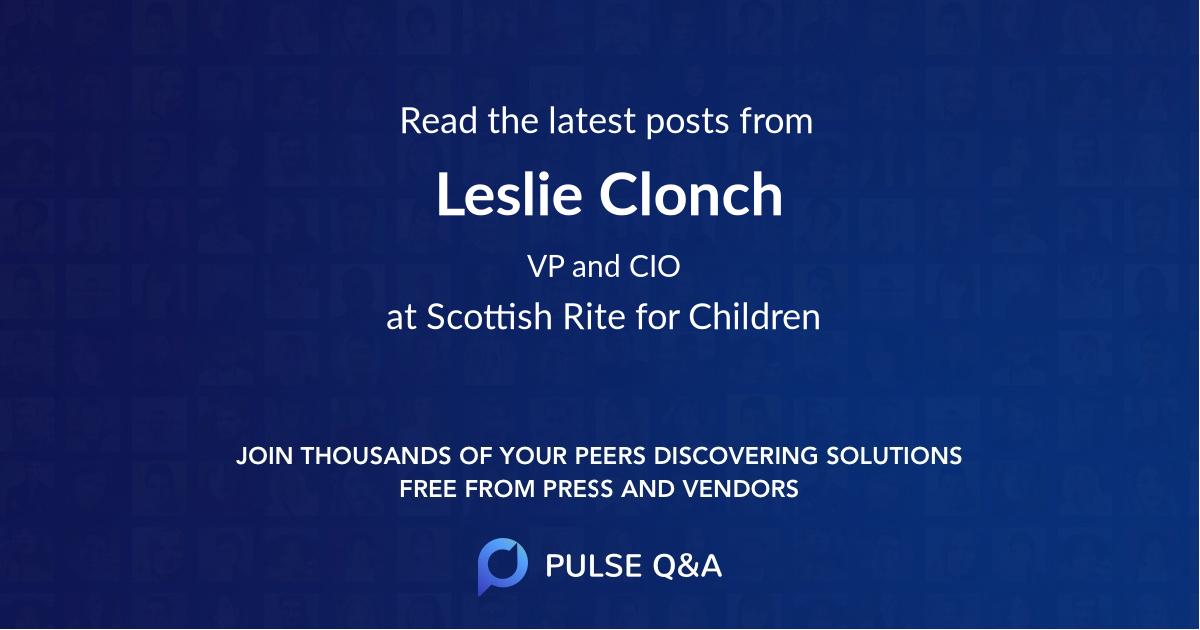Leslie Clonch
