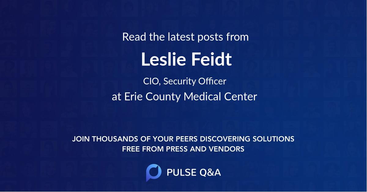 Leslie Feidt