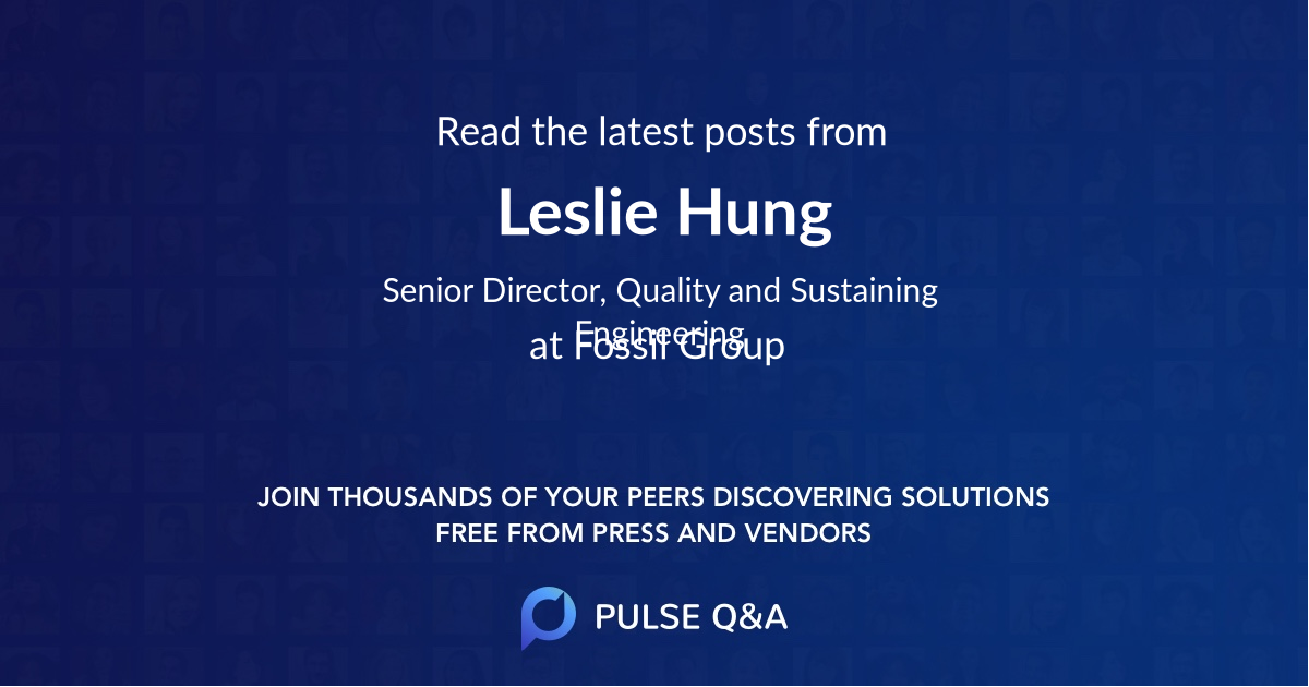 Leslie Hung