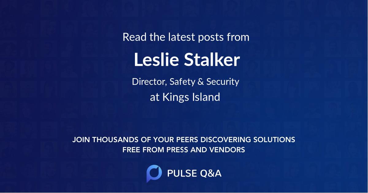 Leslie Stalker